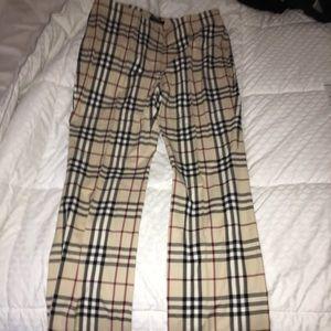 Burberry pants!